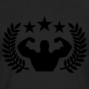 Training Champion T-shirts - Mannen Premium shirt met lange mouwen