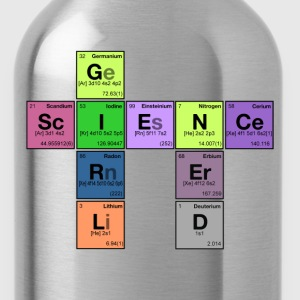 NERD SCIENCE GIRL! - Periodic Elements Scramble T-Shirt - Water Bottle