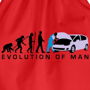 evolution_kfz_mechaniker_122013_a_3c_2 T-Shirts - Turnbeutel