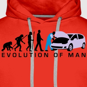 evolution_kfz_mechaniker_122013_a_3c_2 T-Shirts - Männer Premium Hoodie
