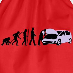 evolution_kfz_mechaniker_122013_b_2c T-Shirts - Turnbeutel