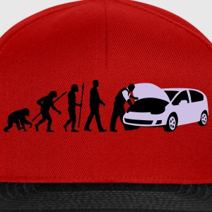 evolution_kfz_mechaniker_122013_b_2c T-Shirts - Snapback Cap