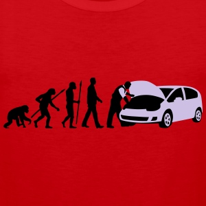 evolution_kfz_mechaniker_122013_b_2c T-Shirts - Männer Premium Tank Top