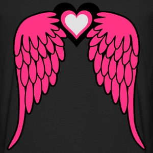Angel Wings T-shirts - Långärmad premium-T-shirt herr