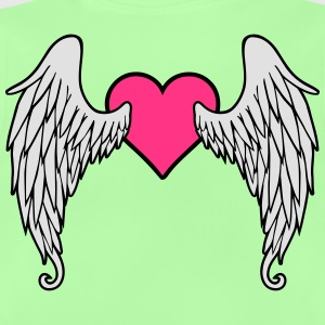Angel Wings Feather Heart Shirts - Baby T-shirt