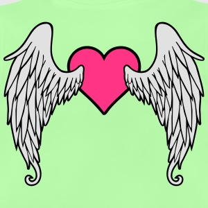 Angel Wings Feather Heart Tee shirts - T-shirt Bébé