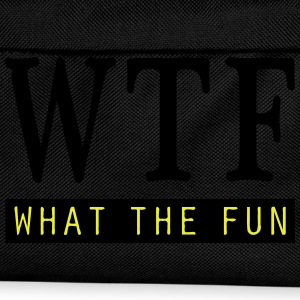 What the Fun T-Shirts - Kinder Rucksack