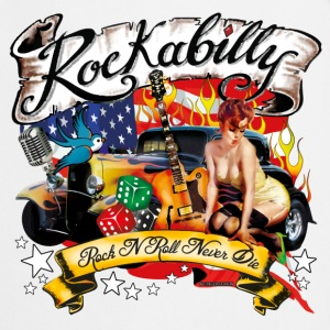 A Rockabilly Rock'nRoll Design T-Shirts - Kochschürze