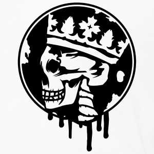 Skull with a crown Jackets & Vests - Men's Premium Longsleeve Shirt