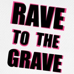 Rave To The Grave T-shirts - Baseballkasket
