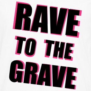 Rave To The Grave T-skjorter - Premium langermet T-skjorte for menn