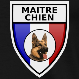 Ecusson maitre-chien berger allemand Sweat-shirts - T-shirt Premium Homme