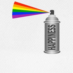 Happiness Spray Rainbow Knappar - Basebollkeps