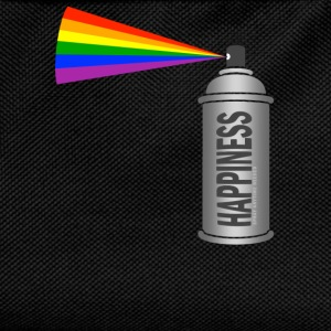 Happiness Spray Rainbow T-skjorter - Ryggsekk for barn