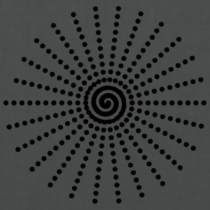 Charcoal Spiral - Stoffbeutel
