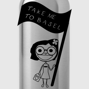 take me to Basel T-Shirts - Trinkflasche