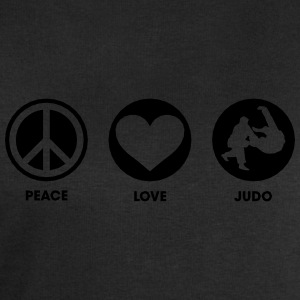 Peace Love Judo Tee shirts - Sweat-shirt Homme Stanley & Stella