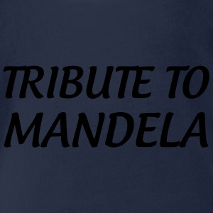 Tribute to Mandela Shirts - Organic Short-sleeved Baby Bodysuit