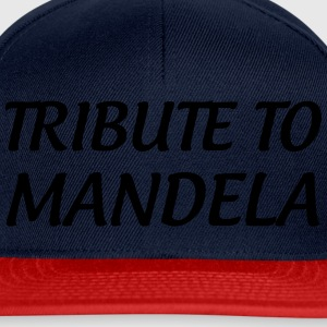 Tribute to Mandela Shirts - Snapback Cap