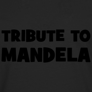 Tribute to Mandela Shirts - Men's Premium Longsleeve Shirt