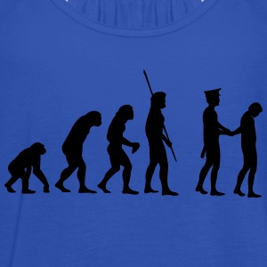 Evolution police arrest  T-Shirts - Women's Tank Top by Bella