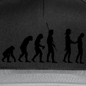 Evolution police with helmets arrest  T-Shirts - Snapback Cap