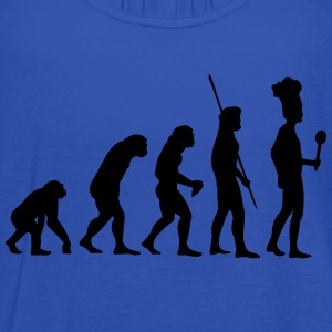 Evolution koken T-shirts - Vrouwen tank top van Bella