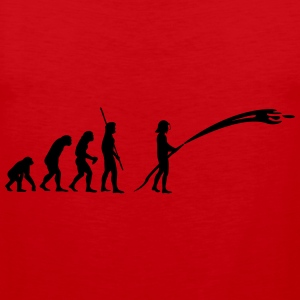 Evolution fireman  T-Shirts - Men's Premium Tank Top