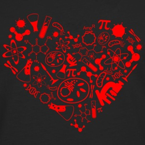 Science heart Bags & backpacks - Men's Premium Longsleeve Shirt