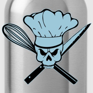 Born to cook Totenkopf - Trinkflasche