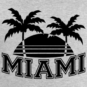 Miami Florida Palms T-Shirts - Men's Sweatshirt by Stanley & Stella