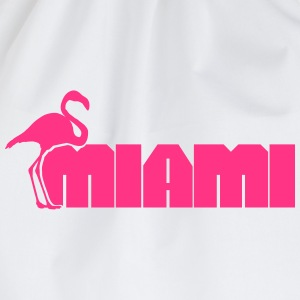 Miami Flamingo T-shirts - Gymnastikpåse