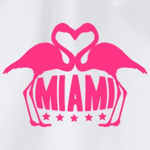 Love Miami Flamingo Stars Logo T-shirts - Gymnastikpåse