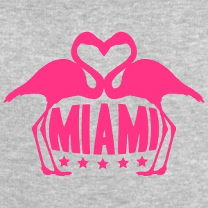 Love Miami Flamingo Stars Logo T-Shirts - Men's Sweatshirt by Stanley & Stella
