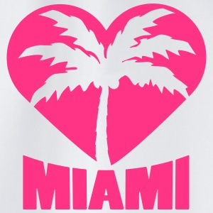 I Love Miami Palm Heart Logo T-Shirts - Turnbeutel