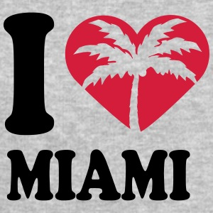 I Love Miami Beach T-Shirts - Men's Sweatshirt by Stanley & Stella