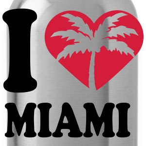 I Love Miami Beach T-Shirts - Water Bottle