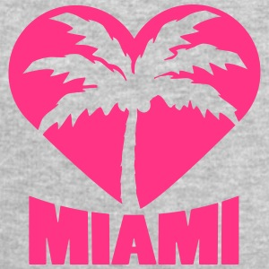 I Love Miami Palm Heart Logo T-skjorter - Sweatshirts for menn fra Stanley & Stella