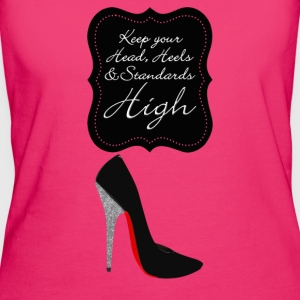Keep your head , heels and standards high Tassen & rugzakken - Vrouwen Bio-T-shirt