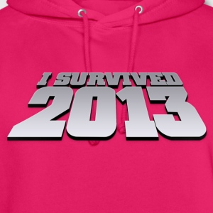 i survived 2013 T-Shirts - Unisex Hoodie