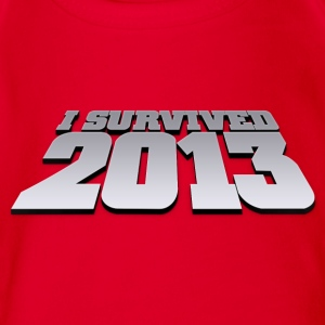 I survived 2013 - welcome 2014 Tee shirts - Body bébé bio manches courtes