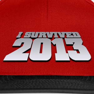i survived 2013 T-Shirts - Snapback Cap
