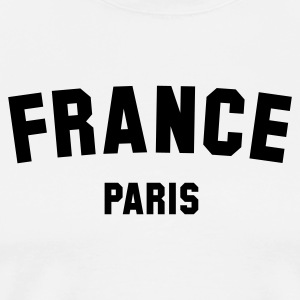 FRANCE PARIS - Männer Premium T-Shirt