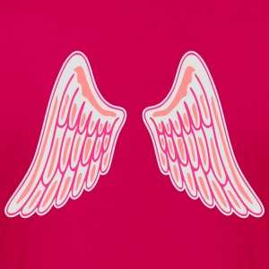 Angel Wings T-shirts - Långärmad premium-T-shirt dam