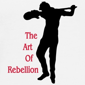 art of rebellion gitarre Bottles & Mugs - Men's Premium T-Shirt