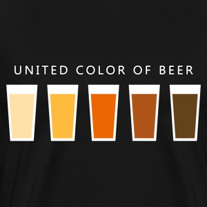 United Color OF BEER (dd) Sweatshirts - Herre premium T-shirt