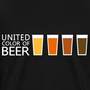 United Color of BEER v3 (dd) Sweaters - Mannen Premium T-shirt