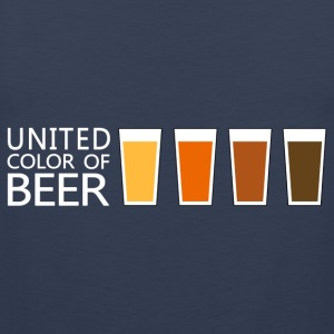 United Color of BEER v3 (dd) T-shirts - Herre Premium tanktop