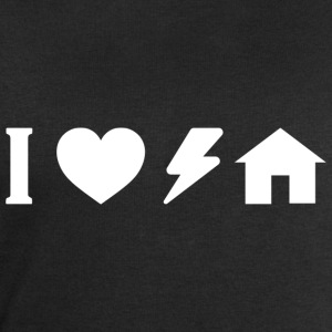 I love electro house White.png Camisetas - Sudadera hombre de Stanley & Stella