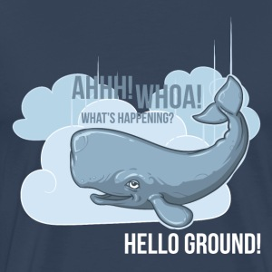 Hello Ground! Langarmshirts - Männer Premium T-Shirt